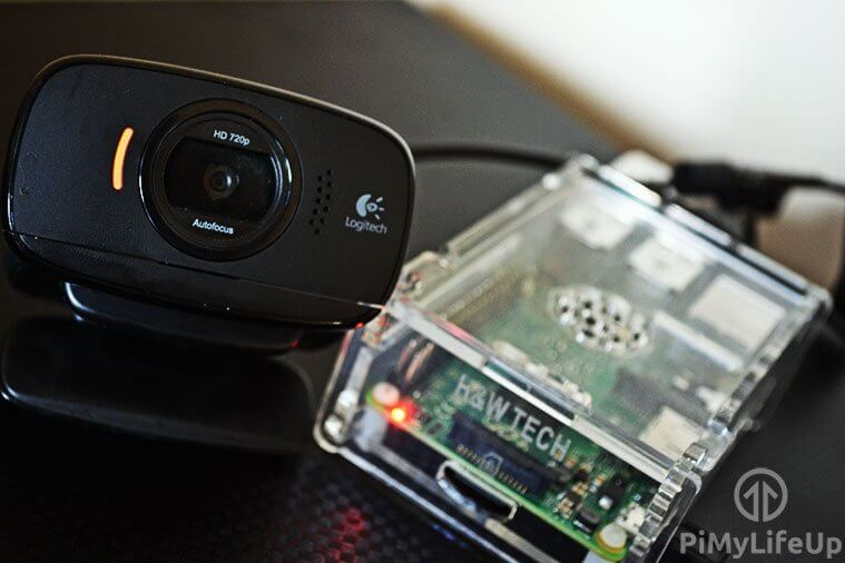 Raspberry Pi Webcam Server