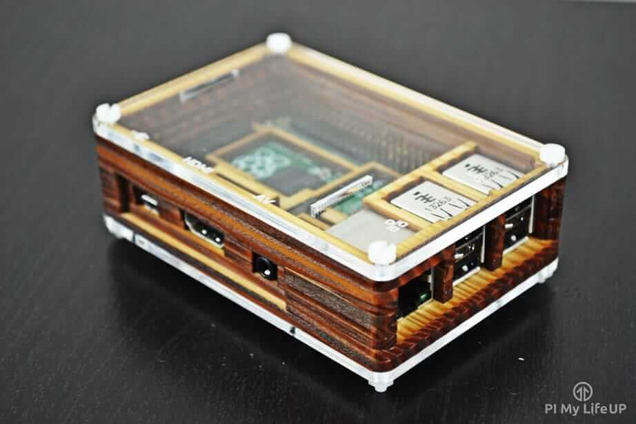 Pibow Timber Raspberry Pi Case