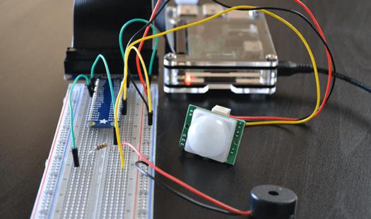Raspberry Pi Motion Sensor using a PIR Sensor Thumbnail