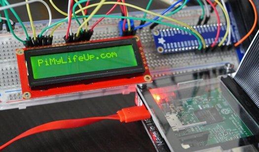 Raspberry Pi LCD using a 16×2 Liquid-Crystal Display Thumbnail