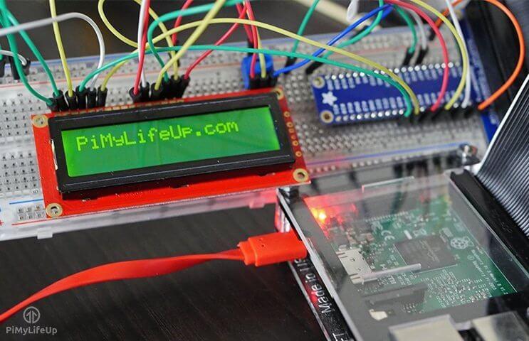 Raspberry Pi LCD 16x2