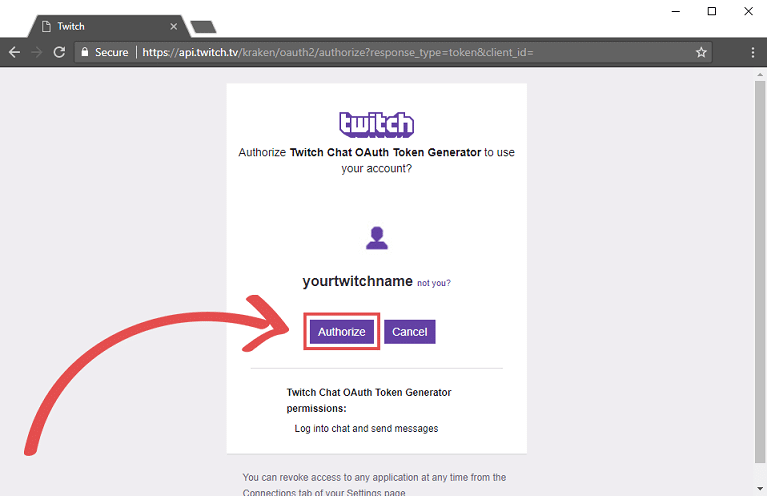 how to create a twitch bot