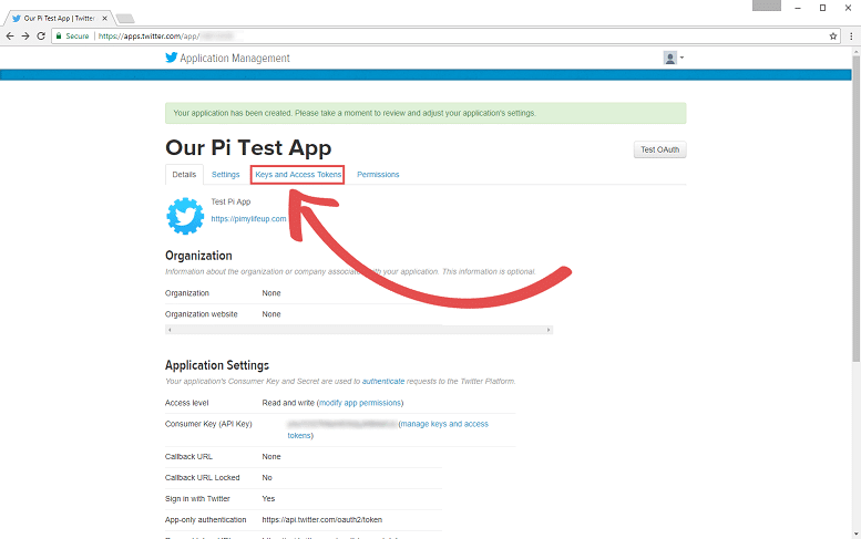 Twitter Bot Application Manager