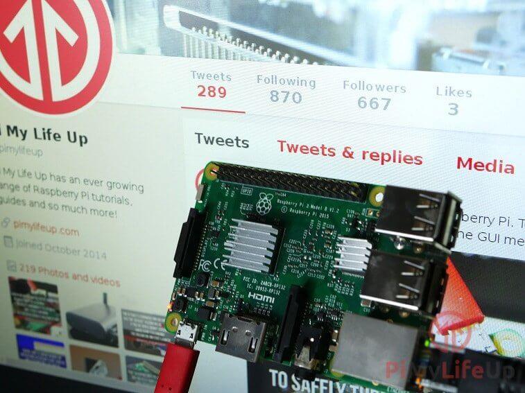 Raspberry PI Twitter Bot