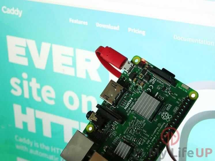 Raspberry Pi Caddy Web Server