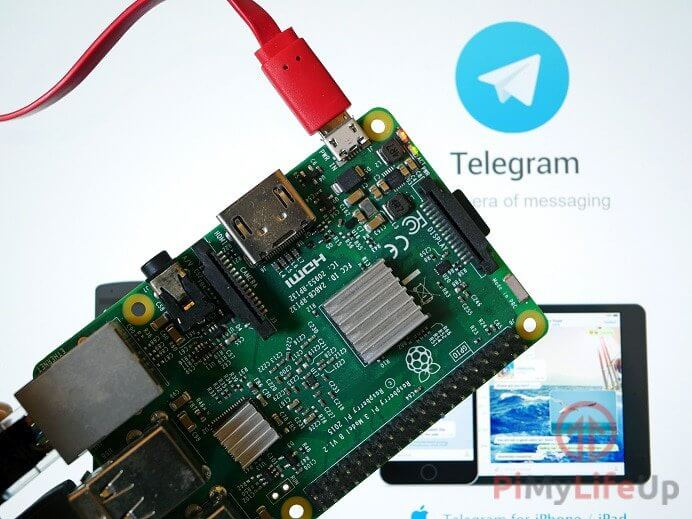 Raspberry Pi Telegram CLI