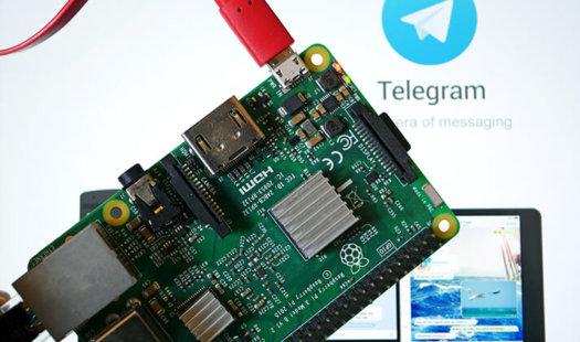 Using Telegram CLI on the Raspberry Pi Thumbnail