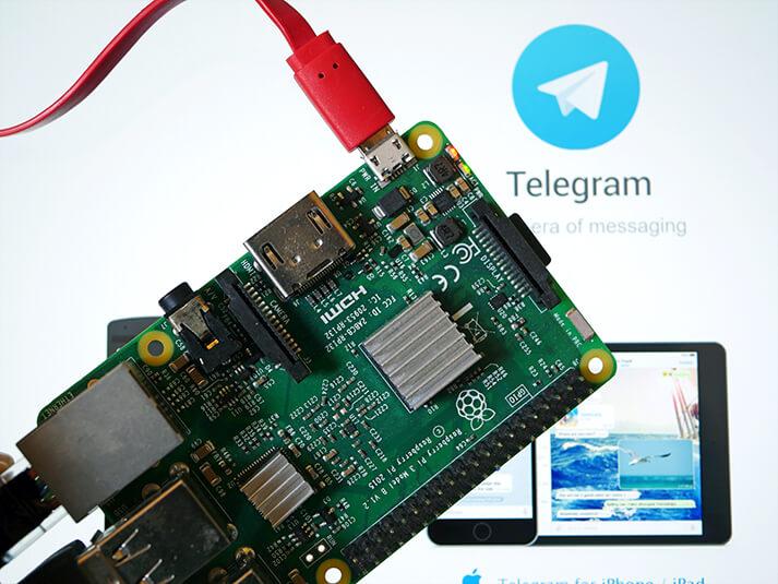 Using Telegram Cli On The Raspberry Pi Pi My Life Up