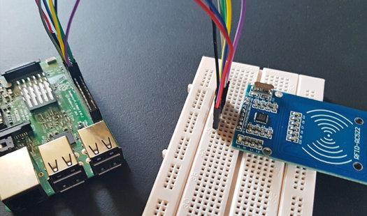 How to setup a Raspberry Pi RFID RC522 Chip Thumbnail