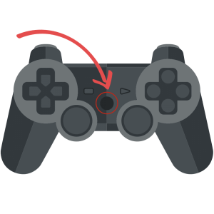 PS3 Controller Middle Button