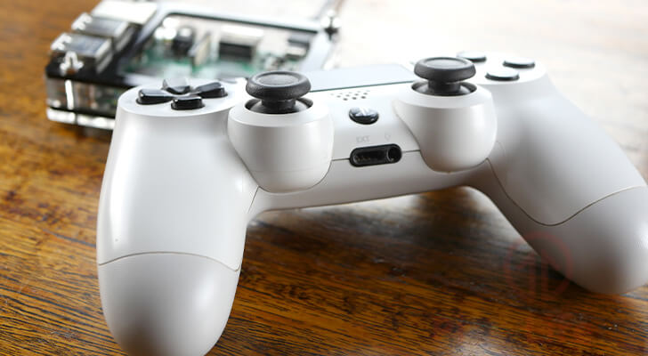 Raspberry Pi PlayStation Controller
