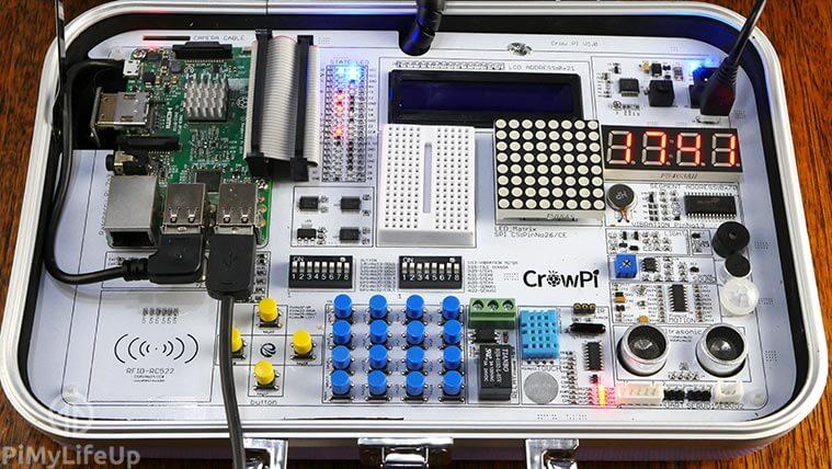 CrowPi Sensors and Devices v2