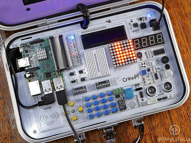 CrowPi Sensors and Devices v3