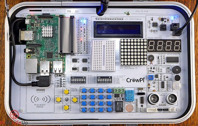 CrowPi Sensors and Devices