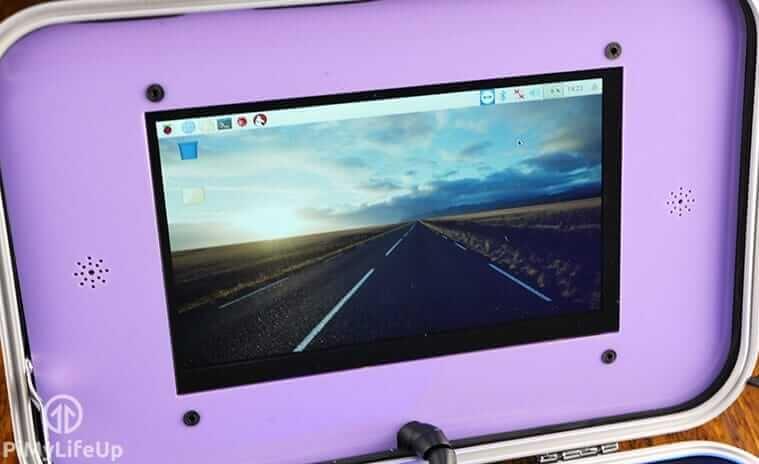 CrowPi Touchscreen