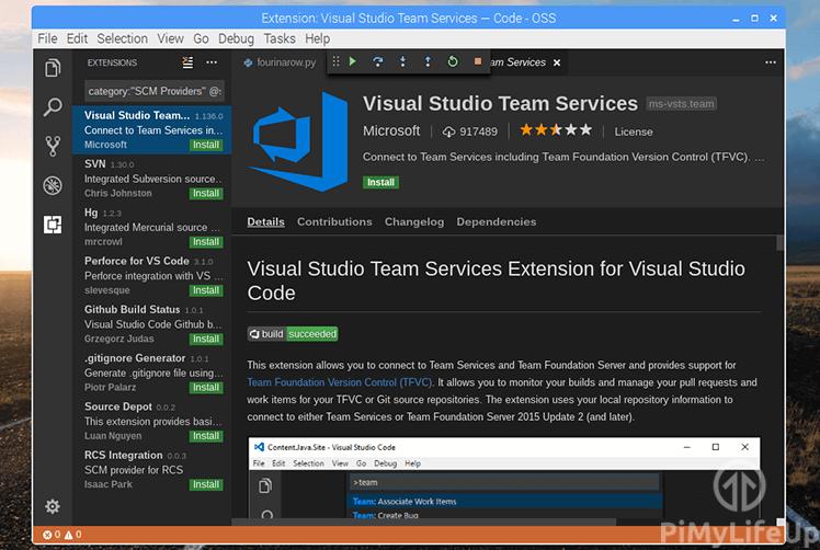 Visual Studio Code Built-in Git