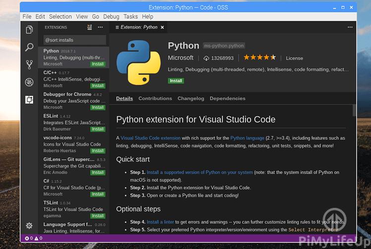 Visual Studio Code Extensible and Customizable