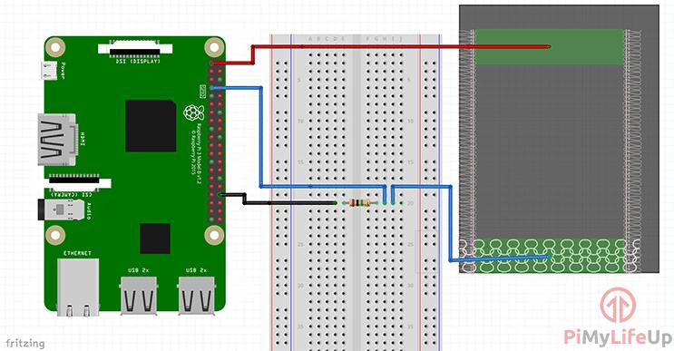 Raspberry Pi Pressure Pad Resistor Diagram