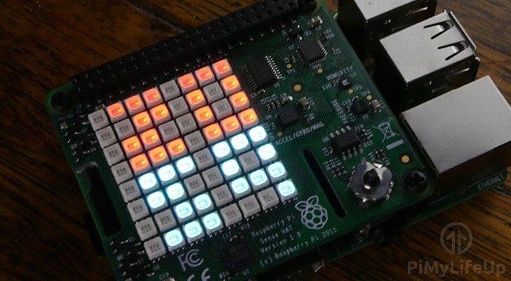 Raspberry Pi Digital Clock SenseHAT Thumbnail