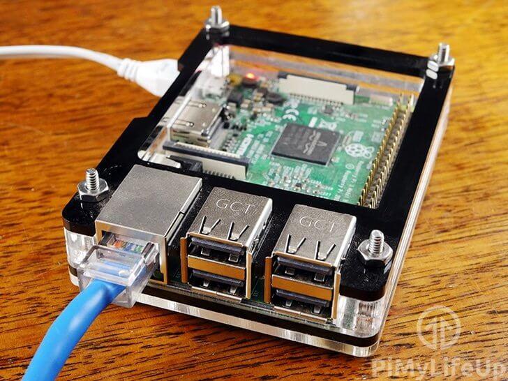 Raspberry Pi Spoofing MAC Address