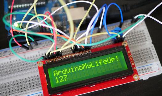Arduino LCD using a 16×2 Liquid Crystal Display Thumbnail