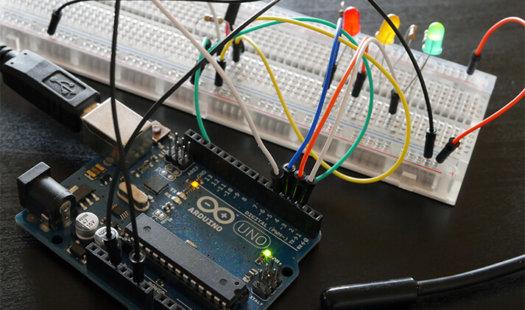 Arduino DS18b20 Temperature Sensor Thumbnail