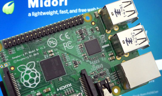 Raspberry Pi Midori Browser Thumbnail