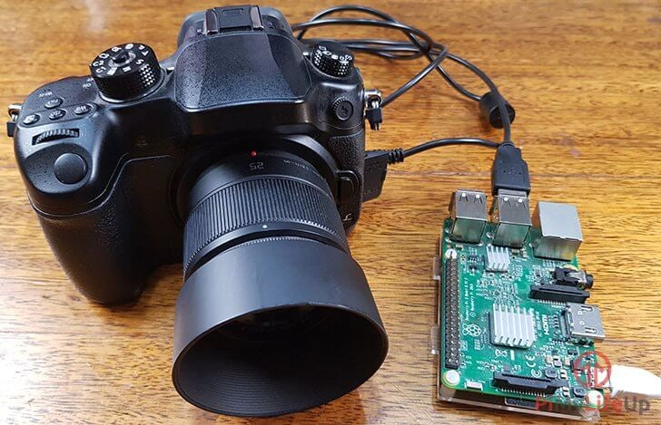 Raspberry Pi Controlling your DSLR Using GPhoto2