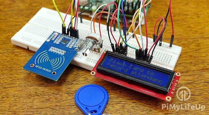 Raspberry Pi RFID Attendance System
