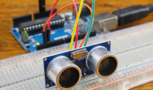Arduino Distance Sensor using the HC-SR04 Thumbnail