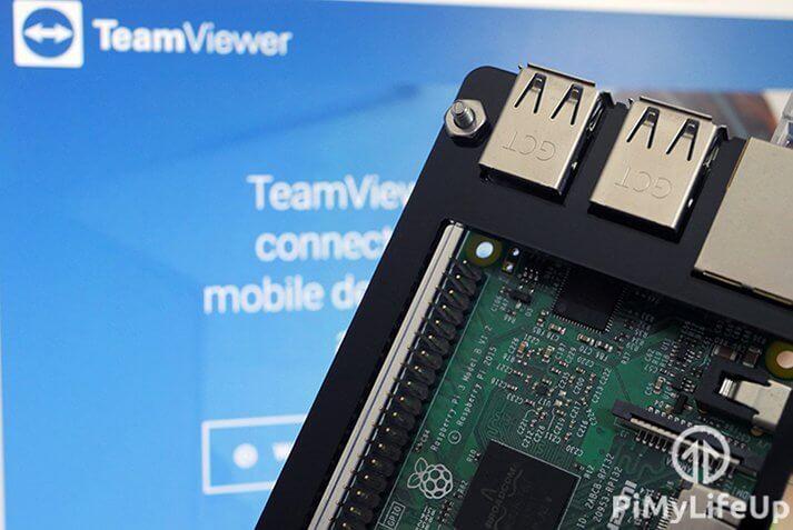 Raspberry Pi TeamViewer