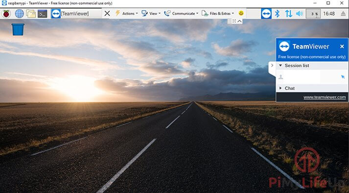 TeamViewer Connected
