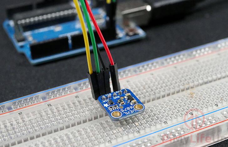 Arduino UV Sensor using the VEML6075