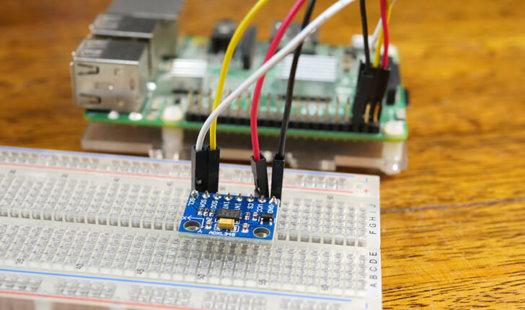 Raspberry Pi Accelerometer using the ADXL345 Thumbnail