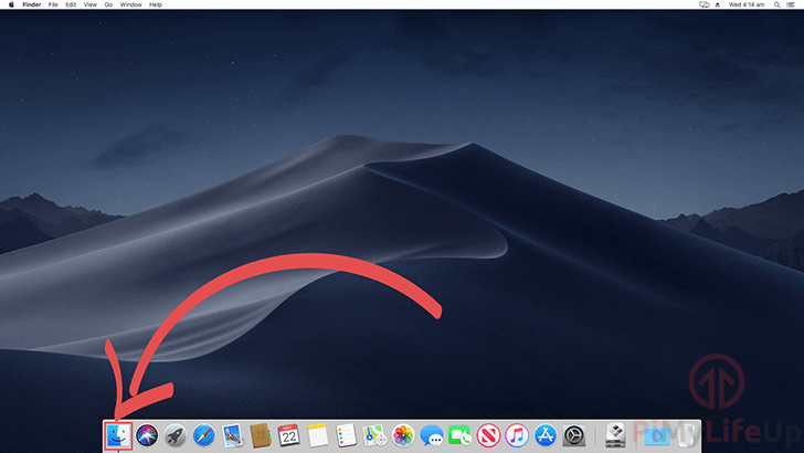 Opening Finder on Mac OS X