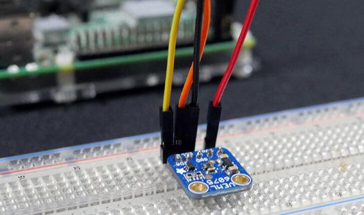 Raspberry Pi UV Sensor using the VEML6075 Thumbnail