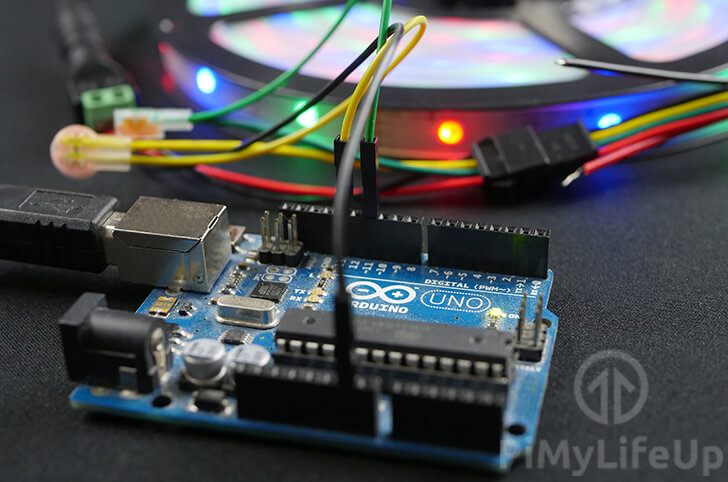 Arduino APA102 LED Strip