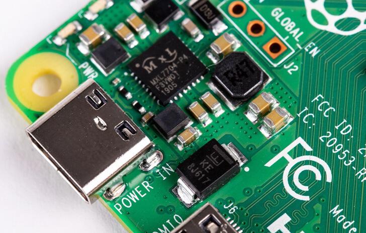 Raspberry Pi 4 USB 3 Power Connector