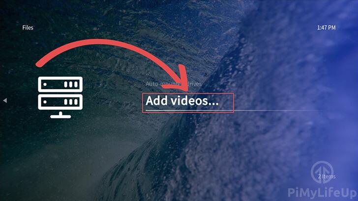 OSMC Add Videos