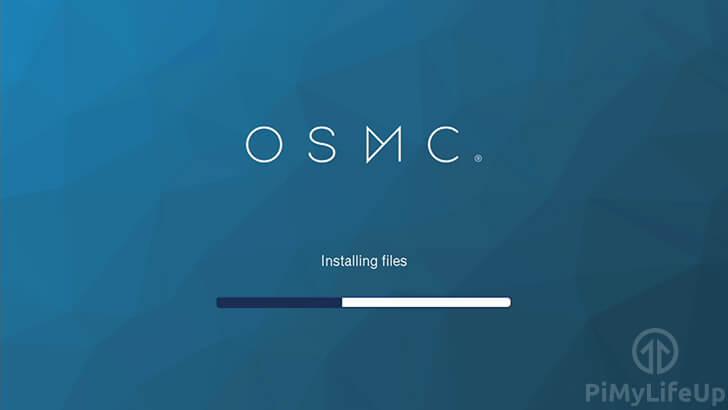 OSMC Setup Initial Startup