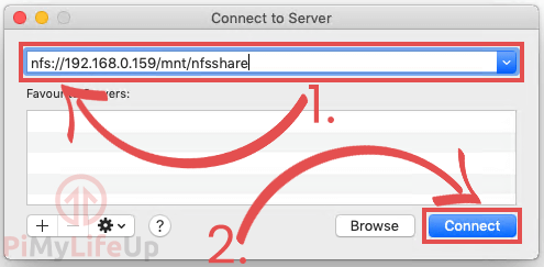 MAC OS X Connect to NFS Server