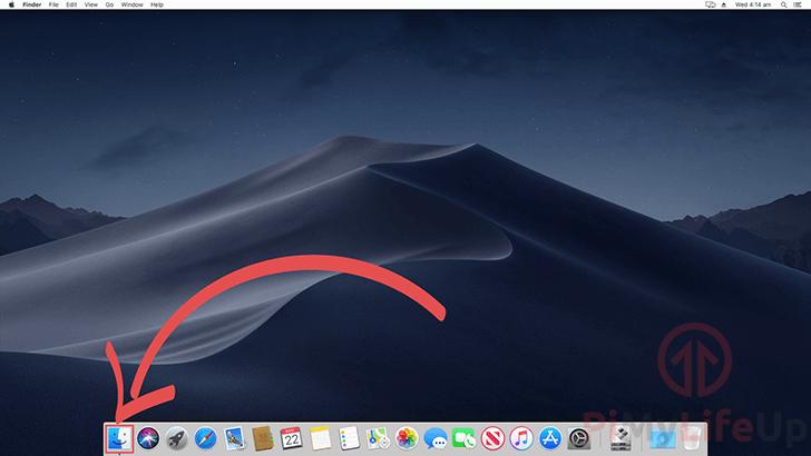 Mac OS X Opening Finder