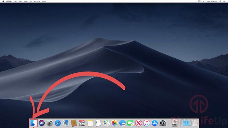 Raspberry Pi Samba Cifs - Mac OS X - 01 Opening Finder on Mac OS X