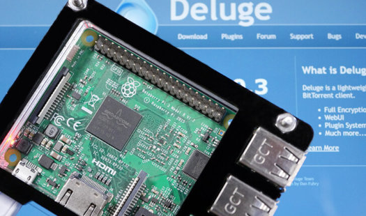 Installing Deluge on the Raspberry Pi Thumbnail