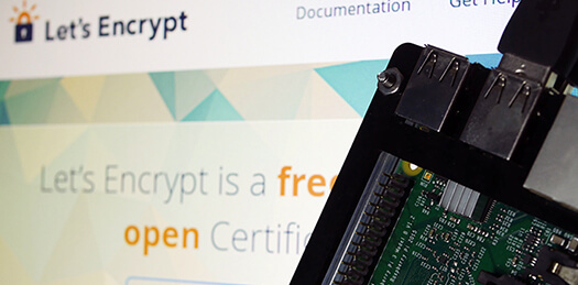 Raspberry Pi Let's Encrypt
