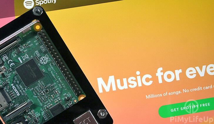 Raspberry Pi Spotify