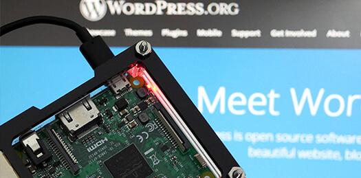 Raspberry Pi Wordpress