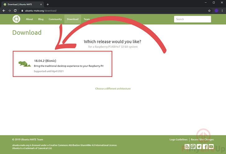 Ubuntu Mate Raspberry Pi Releases