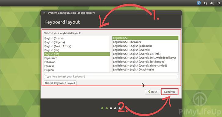 Keyboard Layout Selection Ubuntu Mate
