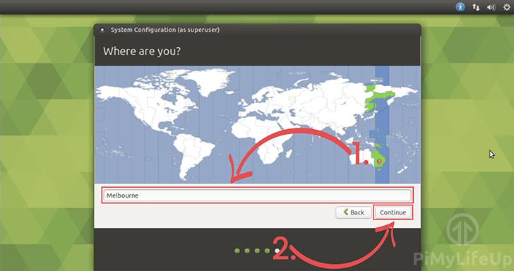 Timezone Select for Ubuntu Mate